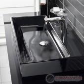 Villeroy & Boch Memento Черна мивка за баня 600х420мм, 513360S0