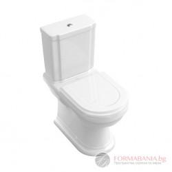 Villeroy & Boch Hommage - Тоалетна чиния за моноблок 666210R1