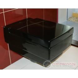 Villeroy & Boch Memento 562810S0 Черна тоалетна чиния за вграждане
