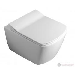 Висяща тоалетна чиния Aqualine Glanc Rimless GC321