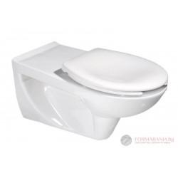 Aqualine Etiuda - Висяща тоалетна за инвалиди 73х37.5см