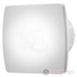 Вентилатор за баня с клапа бял  LX101