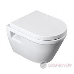 Kale Idea - Висяща тоалетна чиния 35.5х52см, 71125363
