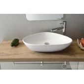 Ексцентрична мивка за баня Bathco Teruel 58.5x39x14