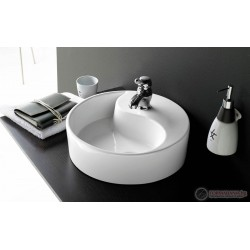 Кръгла мивка за баня Bathco Yin Yang, 40см
