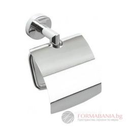Bemeta Omega Държач за тоалетна хартия с капак 104212012