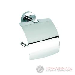 Bemeta Omega Държач за тоалетна хартия с капак 104112012