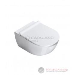 Catalano Sfera 54 NewFlush - Стенна тоалетна с отворен ръб 1VSF54R00