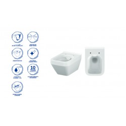 Конзолна тоалетна чиния Cersanit Crea K114-015