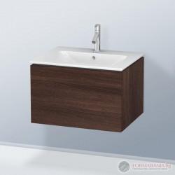 Duravit LC614005353 Стенен шкаф за мивка с чекмедже, тъмен кестен