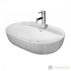 Duravit 038060 Luv Мивка за баня върху плот с отвор за стоящ смесител