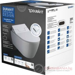 Тоалетна за вграждане с електронно биде Duravit 631000002004300