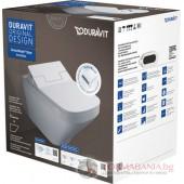 Тоалетна за вграждане с електронно биде Duravit 631001002004300