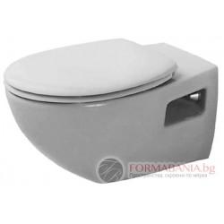 Duravit Duraplus Colomba Висяща тоалетна с биде 2547390075