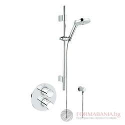 GROHE  GRT 3000 Cosmopolitan, термостат за душ за вграждане с душ гарнитура  34278000