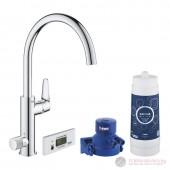Grohe 30385000 Blue Pure BauCurve Кухненска система за пречистване на вода