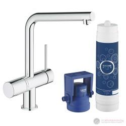Grohe Blue Minta Кухненска система за пречистване на вода в комплект с филтър