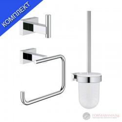 Grohe 40757001 Essentials Cube Комплект аксесоари за баня