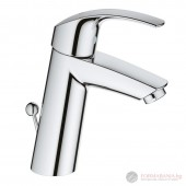 Grohe 23322001 Eurosmart Смесител за мивка с изпразнител