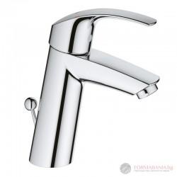 Grohe Eurosmart Смесител за мивка с изпразнител 23322001