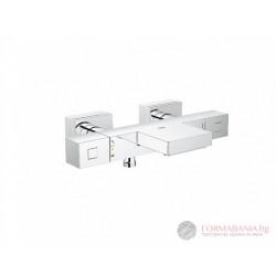 Grohe Grohtherm 34497000 Квадратен термостатен смесител за вана/душ