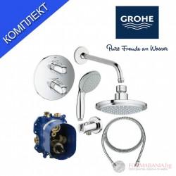 Grohe Grohtherm Душ система с термостатен смесител GRT1000NEW