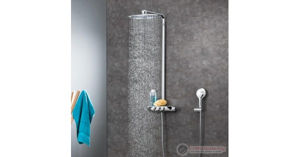 Grohe Rainshower Smartcontrol Shower System With