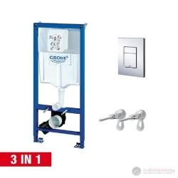 Структура за вграждане на тоалетна Grohe 3в1 38772001