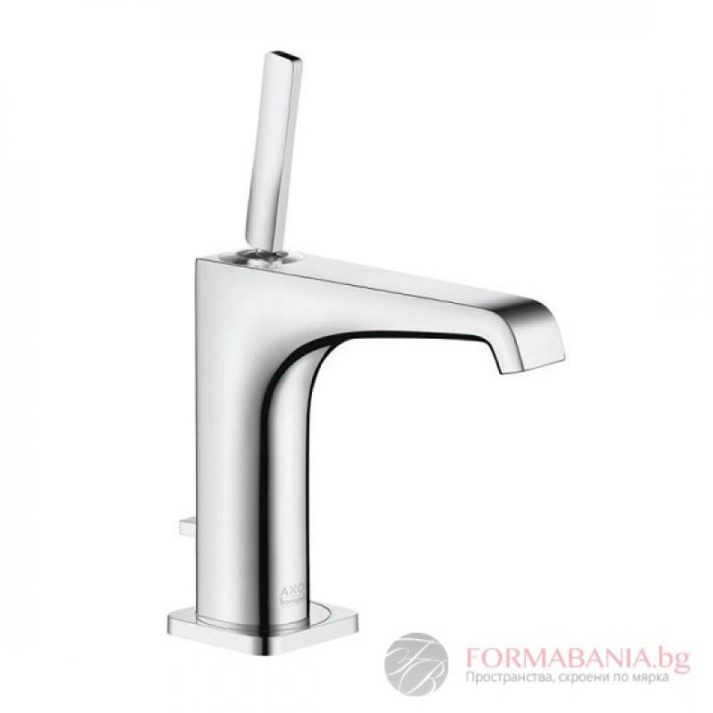 Hansgrohe Axor Citterio E single lever basin mixer 125 with pop-up ...