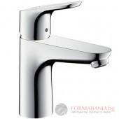 Hansgrohe Focus 100 Coolstart Смесител за мивка с изпразнител 31621000