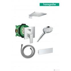 Душ система с термостатен смесител за вграждане Hansgrohe Metropol