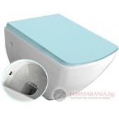 Isvea Purity - Тоалетна чиния за вграждане с биде 35x55,5см