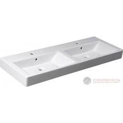 Isvea Purity - Двойна мивка за мебел 120х45см