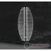 Дизайнерски радиатор за баня Karag Aria 600/1300mm