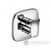 KLUDI AMBA Смесител вана/душ за вграждане външен елемент 536500575