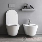 Тоалетна чиния с биде Lucco Avva 100312-KL