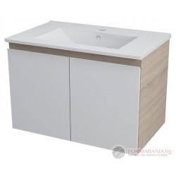 Riana Шкаф за мивка с две вратички MDF, 59х40х45