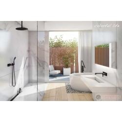 Черни смесители, мивки и тоалетни