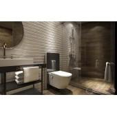 Външна структура за тоалетна с казанче и сензор Popodusche С000522