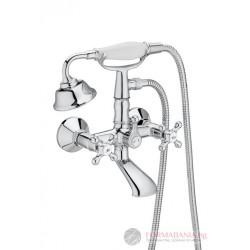 Ретро смесител за душ и вана Roca Carmen A5A014BC00