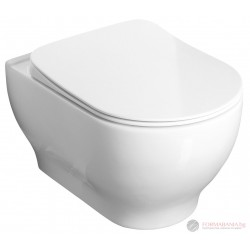 Sanovit Garcia Rim-Art Висяща тоалетна чиния с отворен ръб 100514