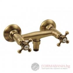 Antea Ретро смесител за душ, бронз, 3866