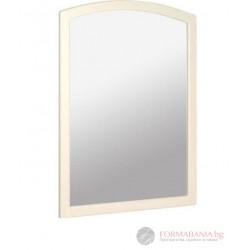 Ретро огледало за баня от дърво 60x80x45см