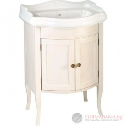 Ретро шкаф за баня от дърво 60x80x45см