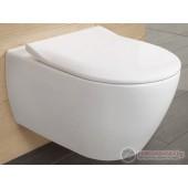 Villeroy & Boch Subway 2.0 Direct Flush Конзолна тоалетна със седалка и капак 5614R201