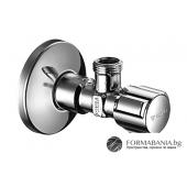 Schell 052120699 Comfort Ъглов спирателен кран за вода G1/2 х G3/8