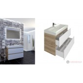 Мебели за баня Triano Бостън - Комплект шкаф с огледало