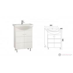 Долен шкаф за баня с мивка Triano Емона