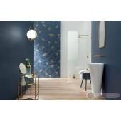 Плочки за баня в кралско син цвят Tubadzin Reflection 29.8/59.8