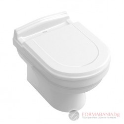Villeroy & Boch Hommage - Висяща тоалетна чиния 6661B0R1
